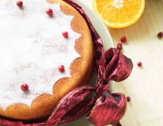 """Вкусный пирог """"Зимнее счастье"""""""