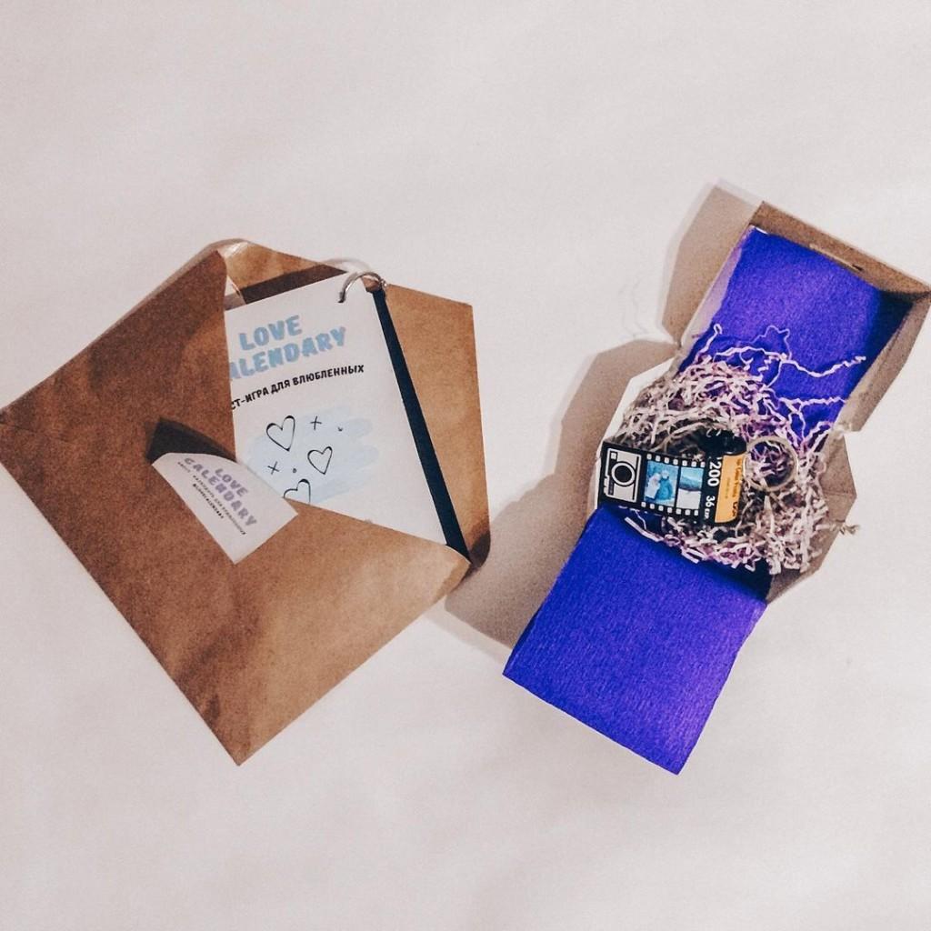 Брелок-фотоплёнка – идеальный подарок